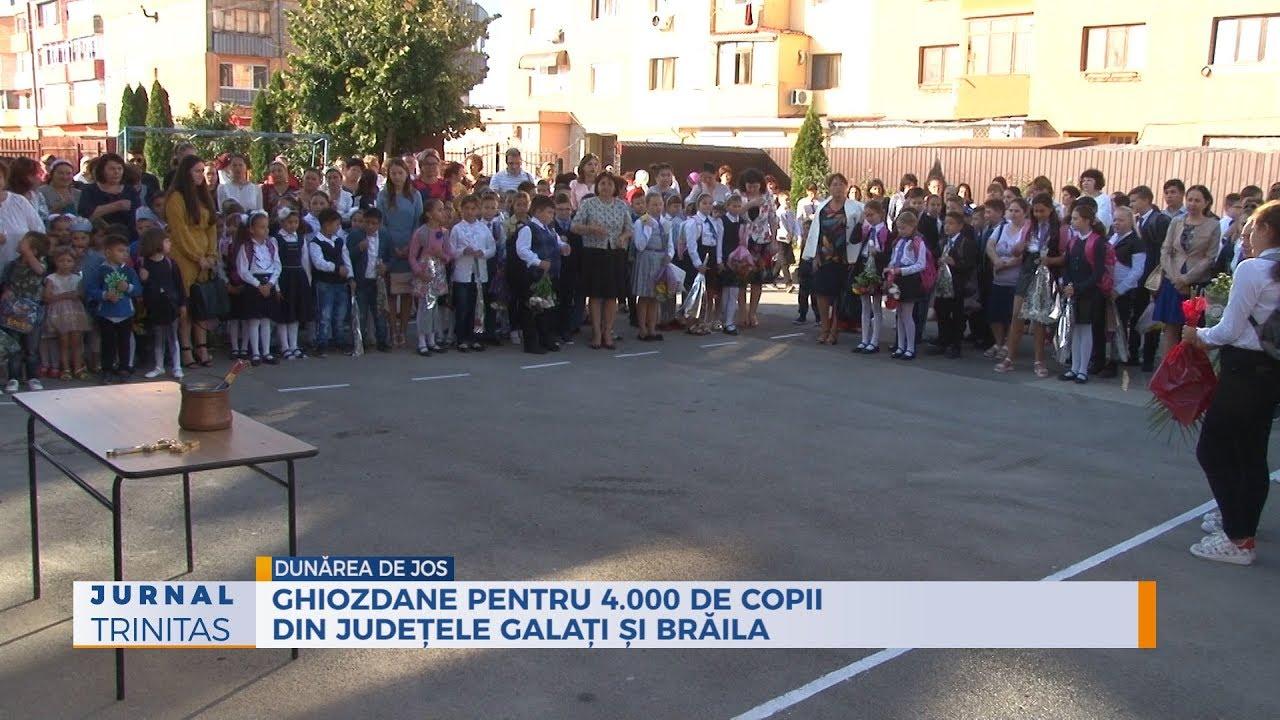cel mai ieftin pret serviciu bun Cel mai bun Ghiozdane pentru 4.000 de copii din județele Galați și Brăila ...