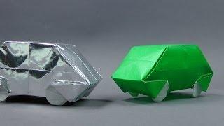 Origami Auto - Faltanleitung