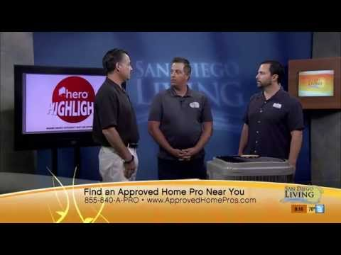 Carini Heating and Air Conditioning on San Diego's Approved Home Pro Show