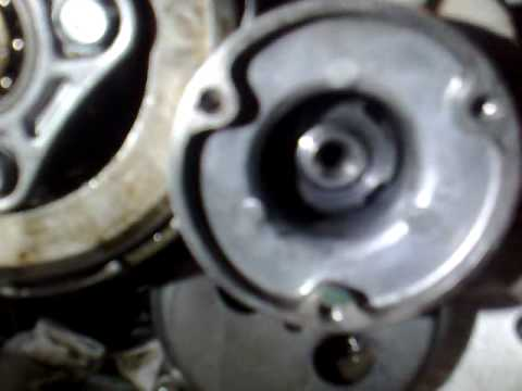 Remove XR200 clutch without special tools. - YouTube