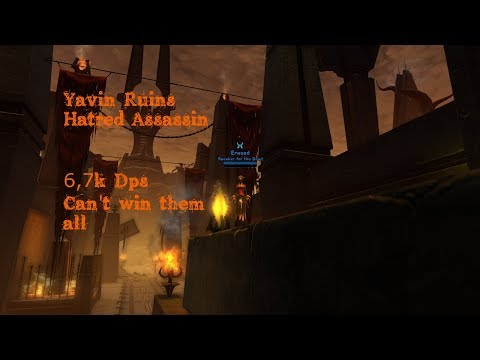 [Satele Shan] SWTOR Hatred Assassin - Yavin ruins, can't win them all 5.6.1 PvP