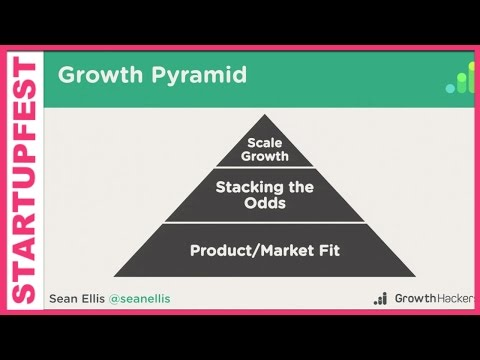 GrowthHackers.com's Sean Ellis on How to build a Growth Team - Startupfest 2015