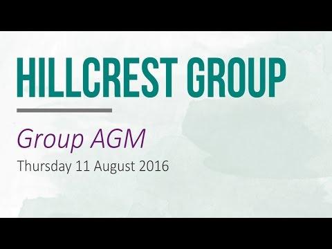 Hillcrest Group AGM 2016