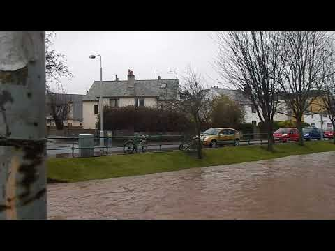 """The Kinnesburn flooding following the """"Beast from the East"""" 3"""