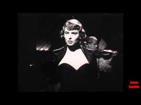 Arch of Triumph 1948 tribute for Ingrid Bergman Romany song. HD