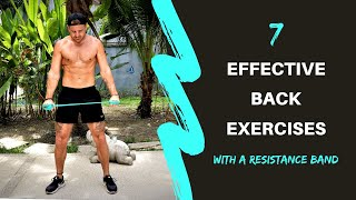 GET A BIGGER BACK WITH ONLY A RESISTANCE BAND