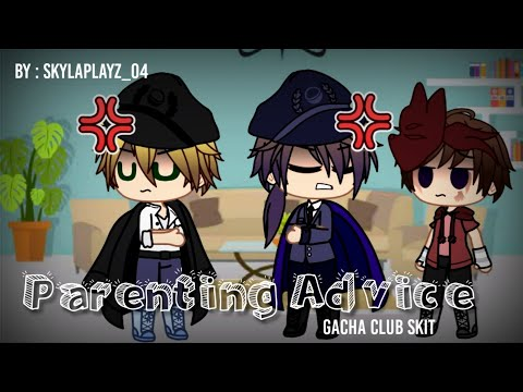Parenting Advice (Gacha Club Skit) // ft. Past Aftons