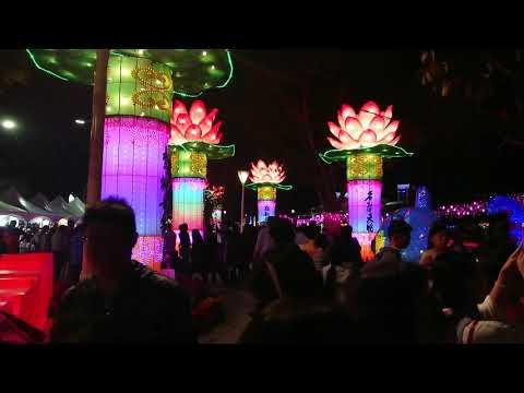 2019高雄金銀河燈會-佛光山燈區