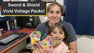Pokémon Sword & Shield: Vivid Voltage Pack Ripping with the Poké Trainer Nic Fan Club!