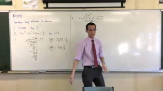 Long Division Review (1 of 4: Re-exploring Long Division of Polynomials)