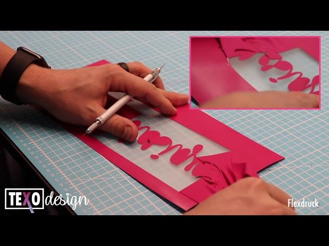 Was ist ein Flexdruck (Textildruck)?