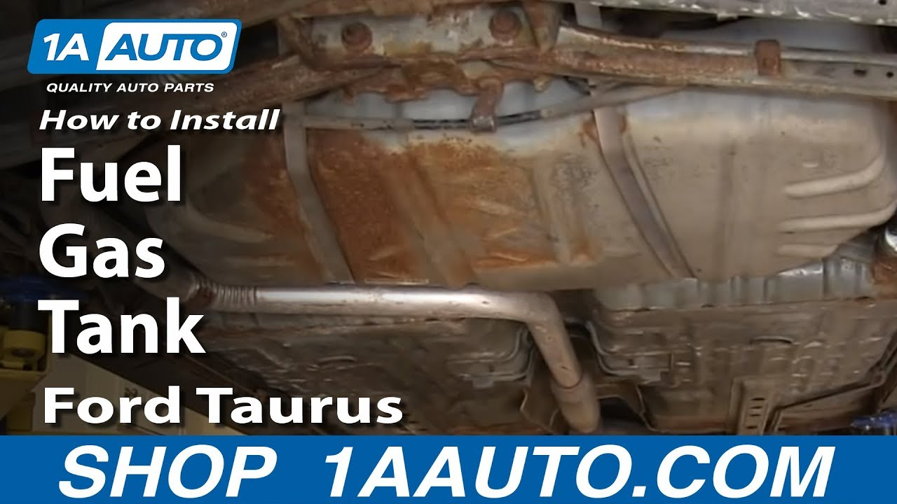 how to install replace fuel gas tank 2000