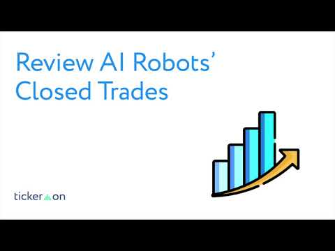 How to Take Good Trades with A.I. Robots