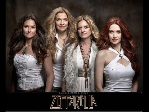 """Zepparella """"Ramble On"""" live in Concord CA @ Todos Santos Plaza, 21 Aug 2014"""