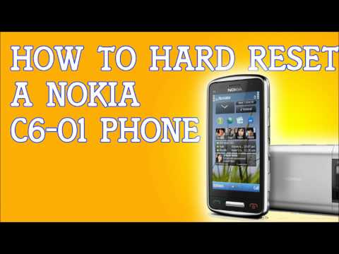 How To Hard Reset A Nokia C6-01 To Factory Settings