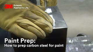 2-step Process for Prepping Carbon Steel for Paint