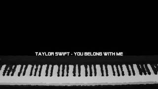 You belong with me - piano instrumental (Taylor Swift)
