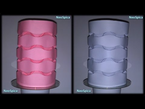 Cylinder Curved Paper Folding - Origami