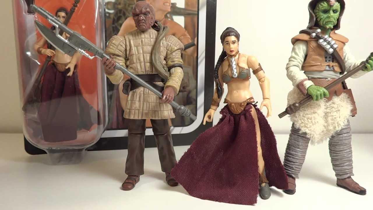 Star Wars Vintage Princess Leia (Slave Outfit) Toy Review ... Old Star Wars Princess Leia