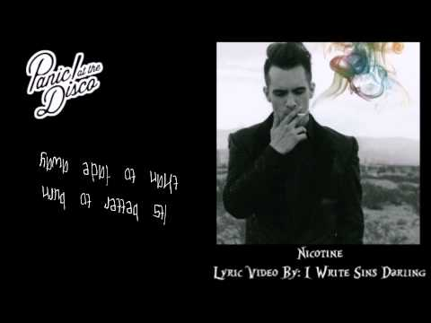 Nicotine-Panic! At The Disco Lyrics