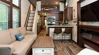 Incredible Stunning Seabreeze Lakeside Luxury Park Models   Tiny House Big Living