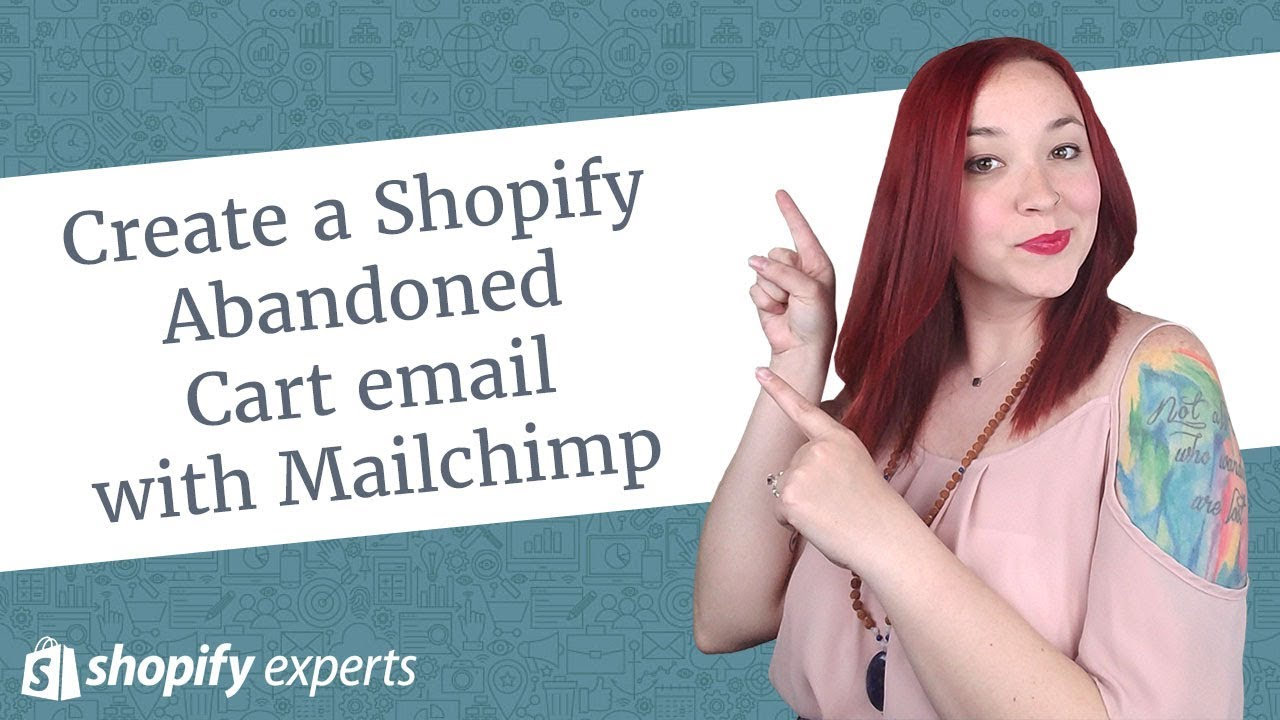 how to use mailchimp with shopify