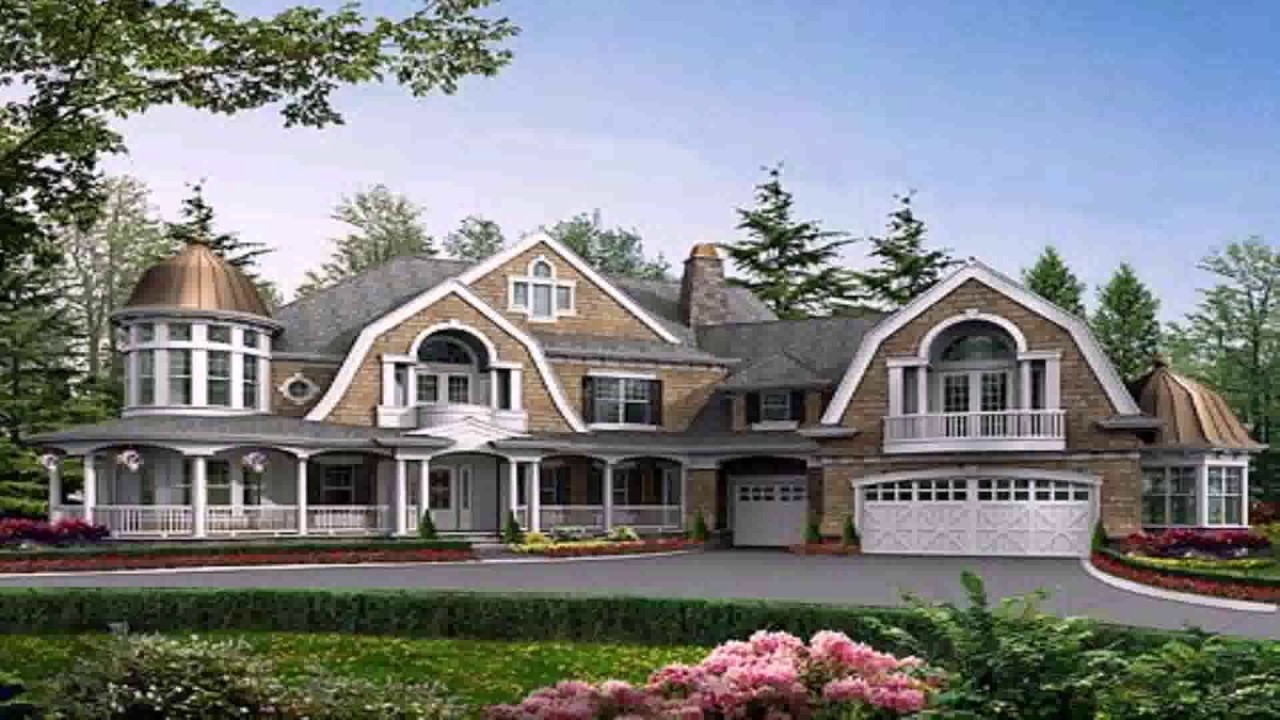Shingle style house plans small youtube for Shingle style house plans