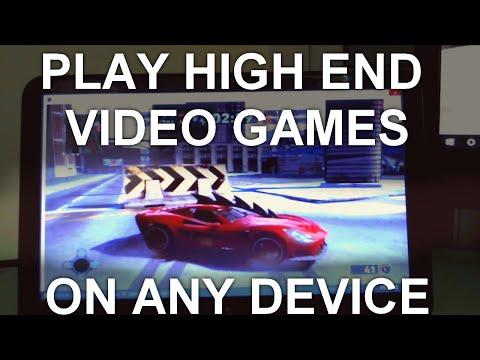 How to play high quality video games in a browser on Chromebook, tablets or laptops