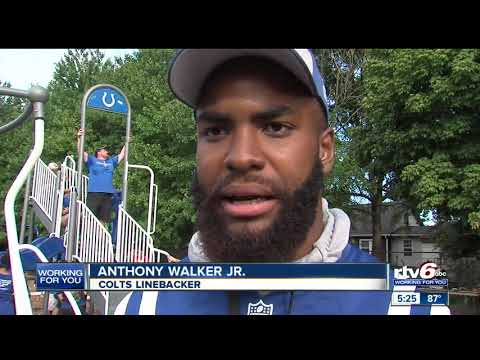 Colts join group to help build new park at Stephen Foster School 67 in Indianapolis