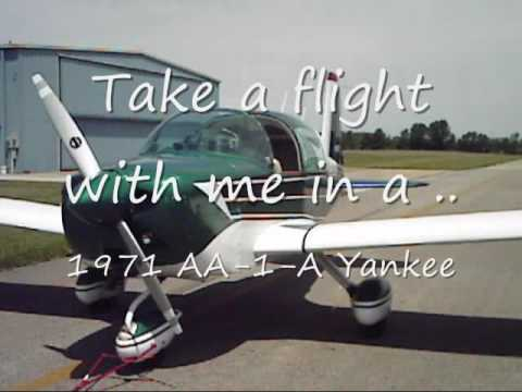 GRUMMAN 1971 AA-1-A Yankee aircraft