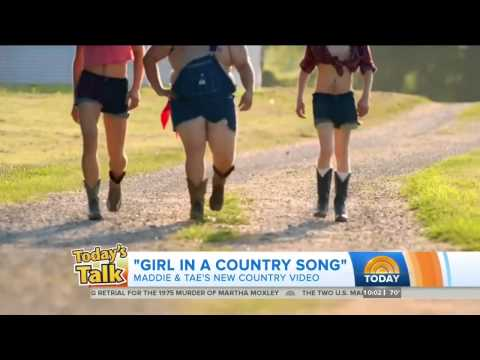 Girl in A Country Song on the Today Show (round 2)!