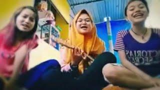 "Gambar cover Story wa keren bikin baper versi kentrung ""COK JARAN"" terbaru || Cover : Monica"