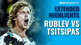 Andrey Rublev vs Stefanos Tsitsipas | Hamburg 2020 Final Extended Highlights