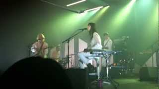 Charlotte Gainsbourg - Greenwich Mean Time - Live @L'autre Canal Nancy (FR) - 29.05.2012