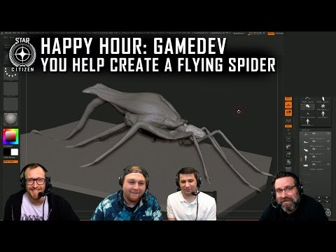Happy Hour Gamedev: YOU Help Create a Flying Spider