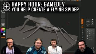 Star Citizen: Happy Hour Gamedev - YOU Help Create a Flying Spider