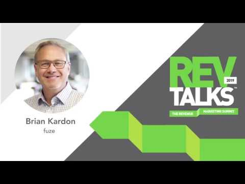 How Artificial Intelligence Is Accelerating Marketing Performance | Brian Kardon at REVTalks 2019