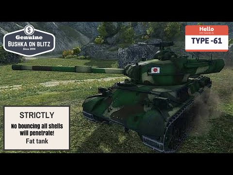 Type 61 World Of Tanks Blitz Review Guide Gameplay Bushka On Blitz ft Bushka Jr 1