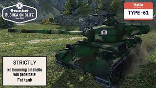 Type 61 World Of Tanks Blitz Review Guide Gameplay Bushka On Blitz ft Bushka Jr 1