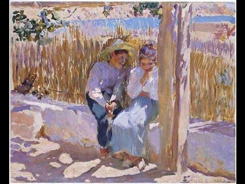 Joachim Sorolla, Spanish painter of sun and sea
