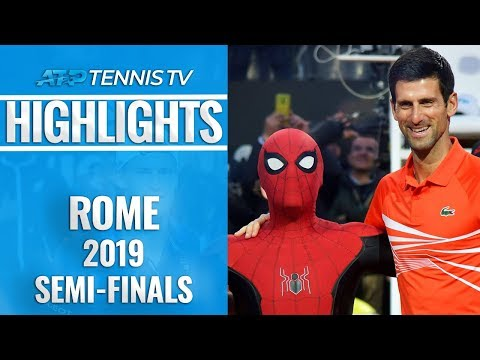 Nadal & Djokovic Set Up Final Showdown | Rome 2019 Semi-Final Highlights