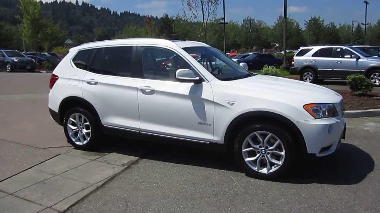 2011 BMW X3, White - STOCK# 13-2926A - YouTube