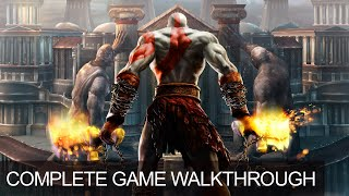 God Of War 2 Complete Game Walkthrough Full Game Story