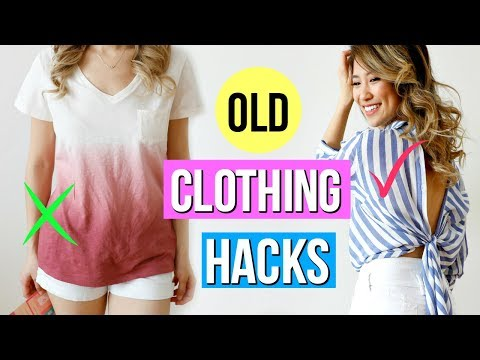9 Clothing Hacks Everyone Must Know!