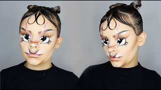 'ISSHEHUNGRY' MAKEUP TRANSFORMATION! | Lucy Garland