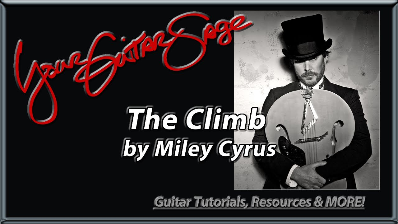 The Climb By Miley Cyrus Beginner How To Play Guitar Lesson Youtube