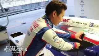 TOYOTA GAZOO Racing 小林可夢偉のWECをもっと楽しむ方法 コックピット紹介