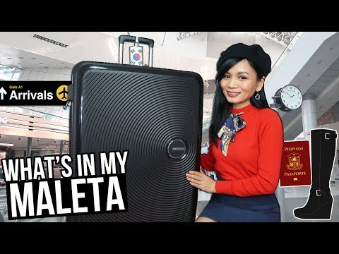 WHAT'S IN MY MALETA SA KOREA?! | Travel Essentials + Life Hacks