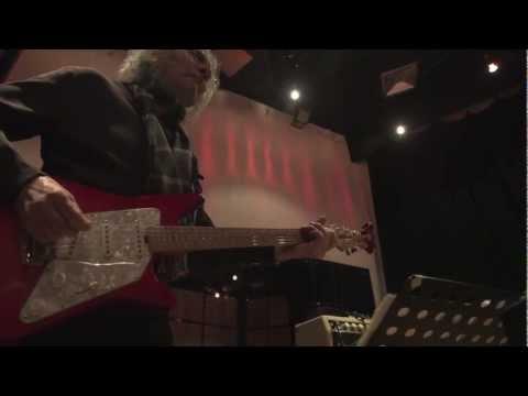 Albert Lee - Rehearsing with Hogan's Heroes