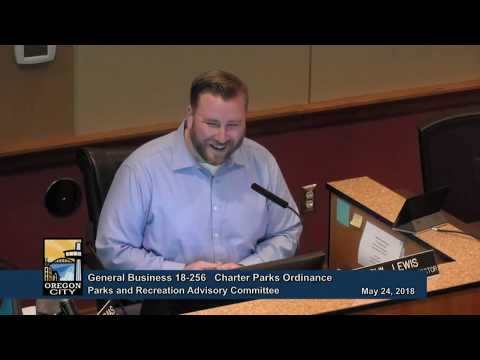 Parks and Recreation Advisory Committee  May 24, 2018